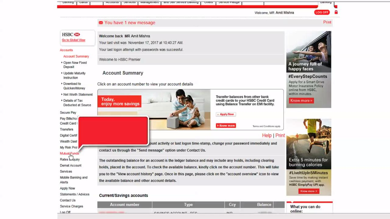 Mutual Funds | Investments - HSBC IN
