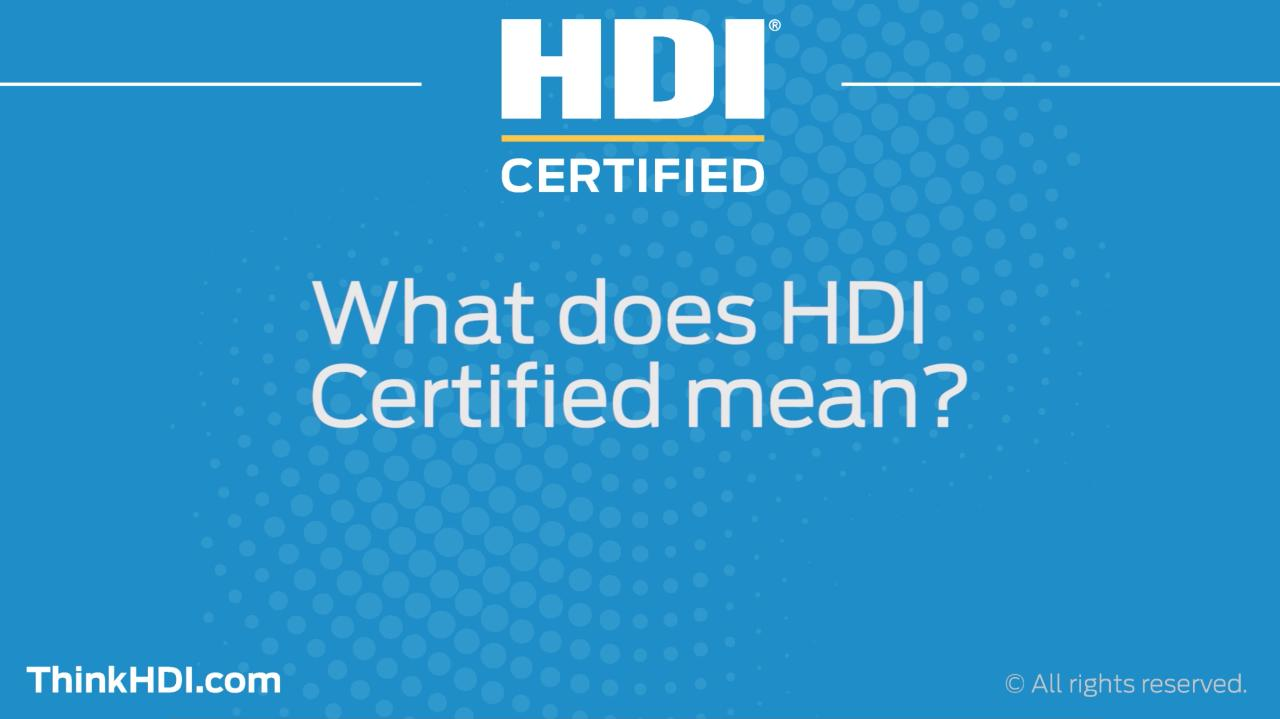 Professional help desk service desk certifications hdi 1betcityfo Gallery