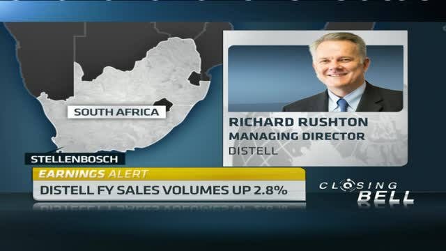 Distell FY revenue up 9.6%