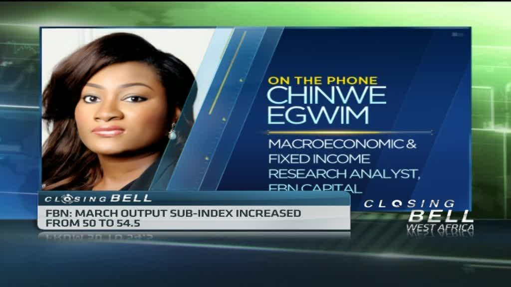 Nigeria's PMI recovers ground in March