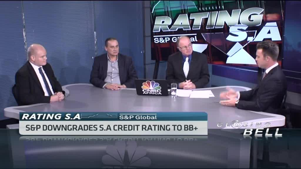 S&P downgrades S.A credit rating to BB+