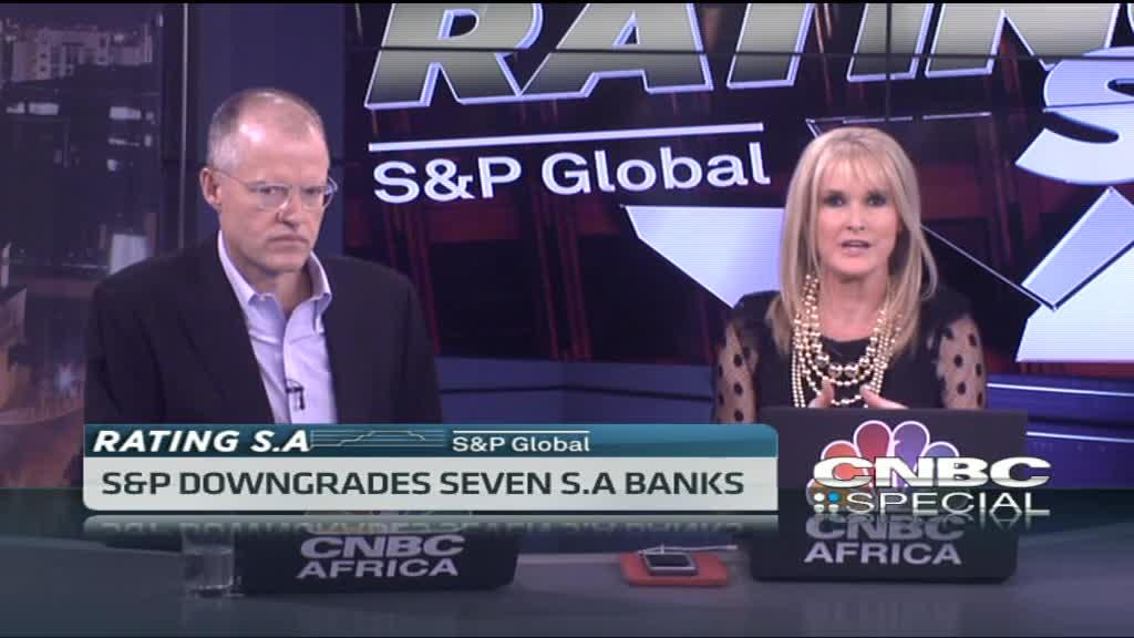Consequences of S&P's downgrade of 7 S.A banks