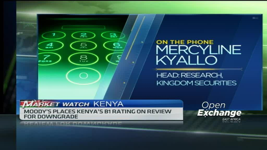 Moody's places Kenya's B1 rating on review for downgrade