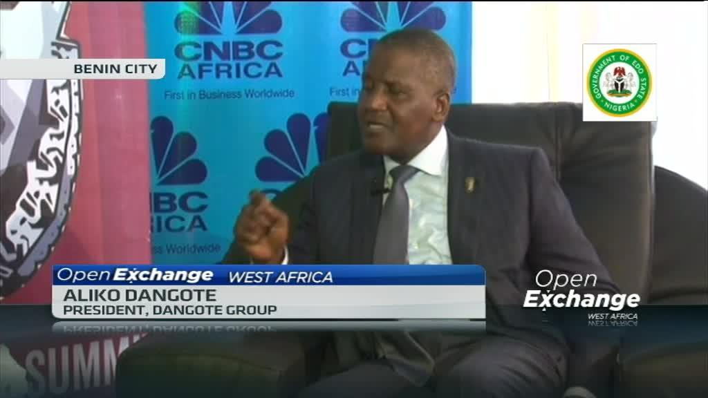 Dangote speaks about investing in Edo State