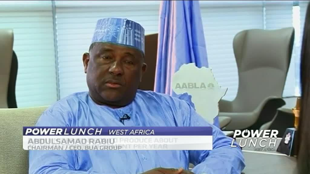 Nigeria needs more cement plants to boost local production - BUA Group Chief
