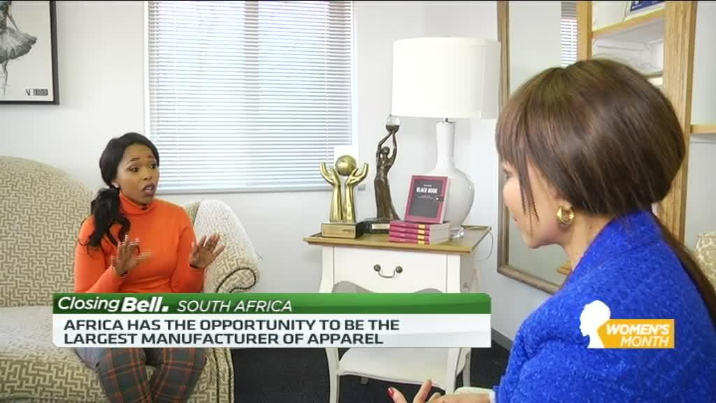 Precious Moloi-Motsepe speaks about Africa's fashion industry