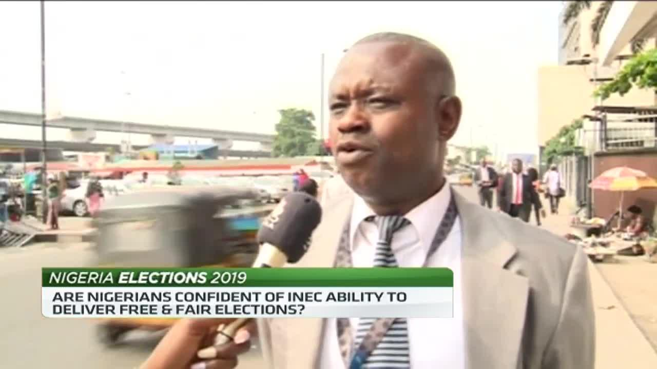 Nigerians speak out about INEC