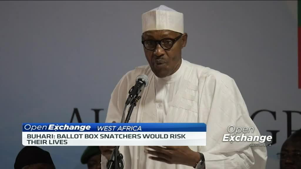 Nigerian president talks tough on election offenders