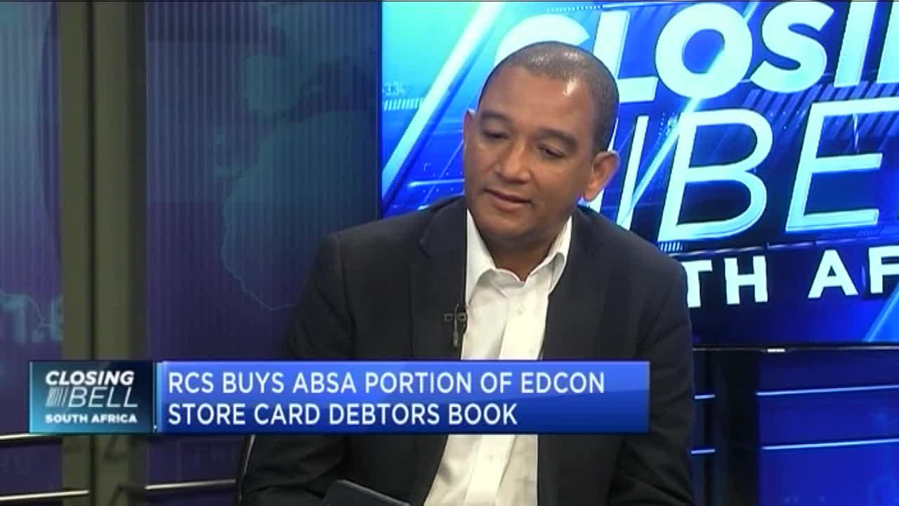RCS buys Absa portion of Edcon store card debtors' book