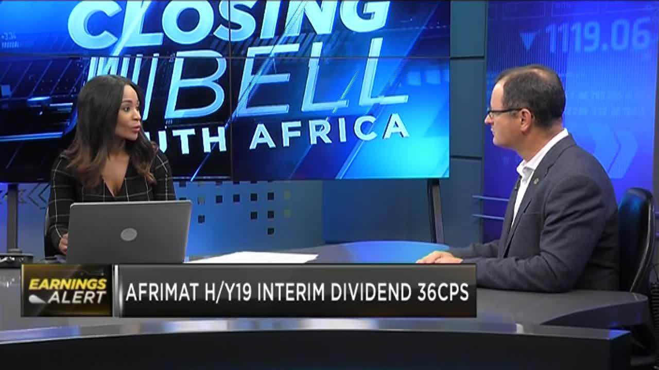 Industrial mineral business lifts Afrimat's earnings