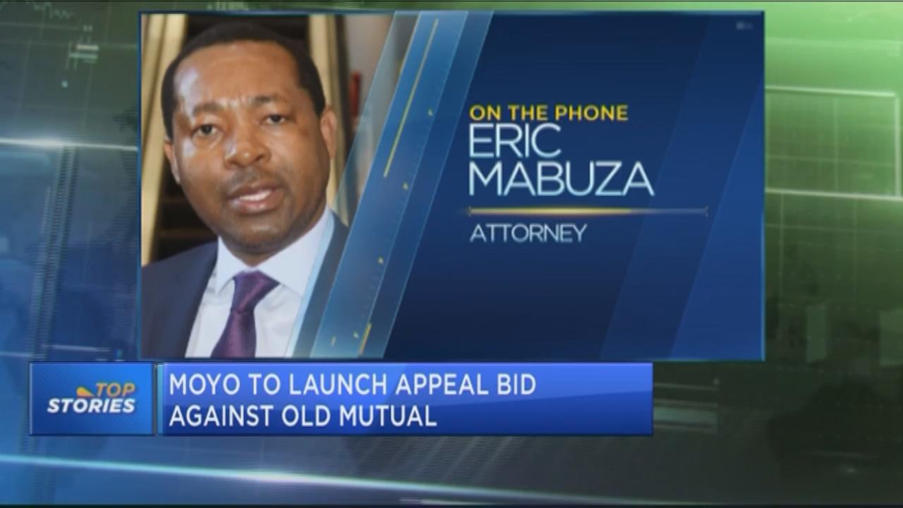 Moyo to launch appeal bid against Old Mutual