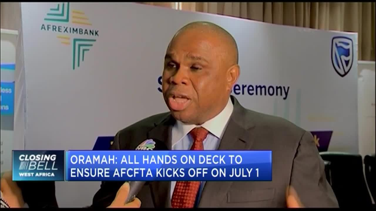 AfCFTA: Afreximbank President Oramah calls for African resources to support Africa's development
