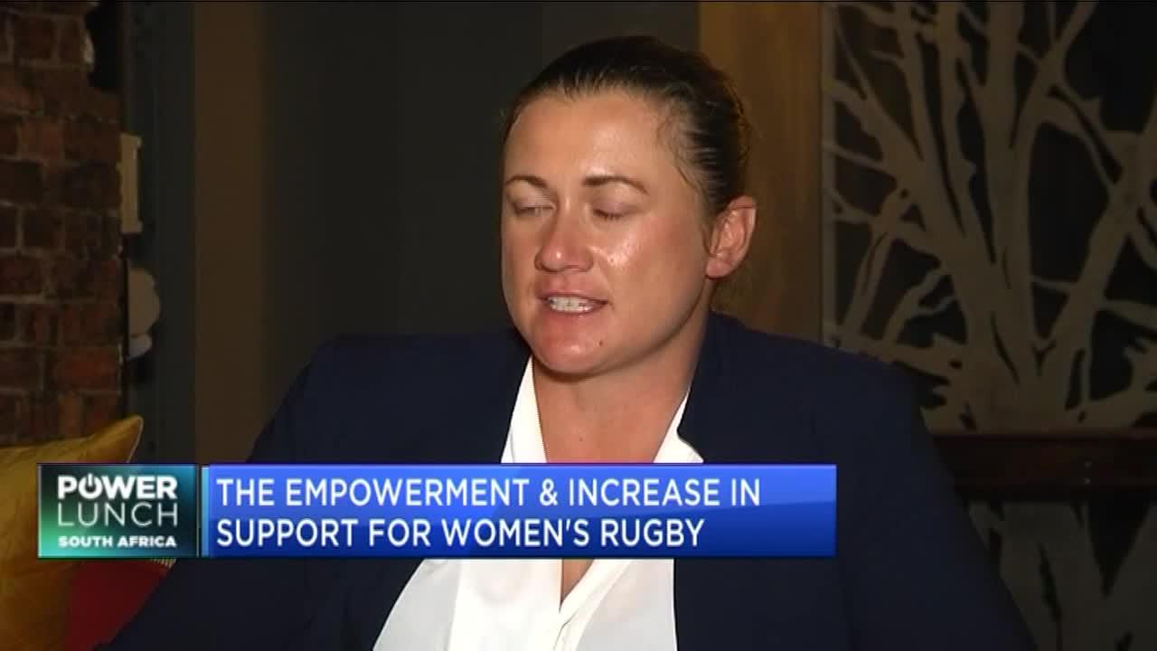 Chanel Alberts on how women can be empowered through rugby