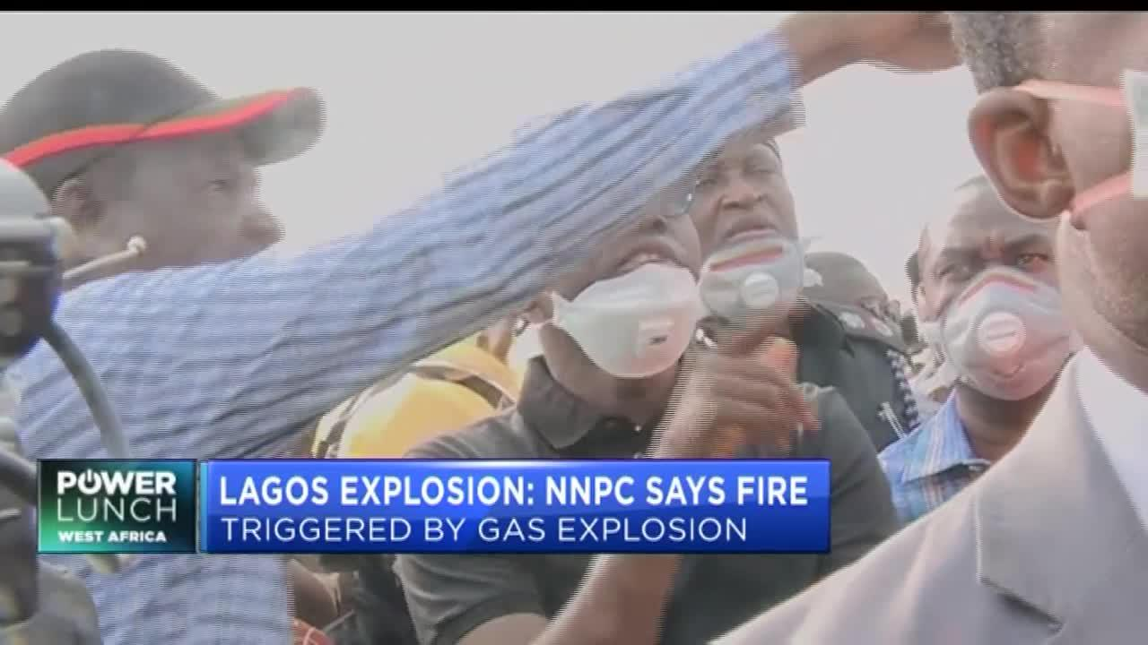 NNPC: Lagos fire at gas plant likely triggered by gas explosion