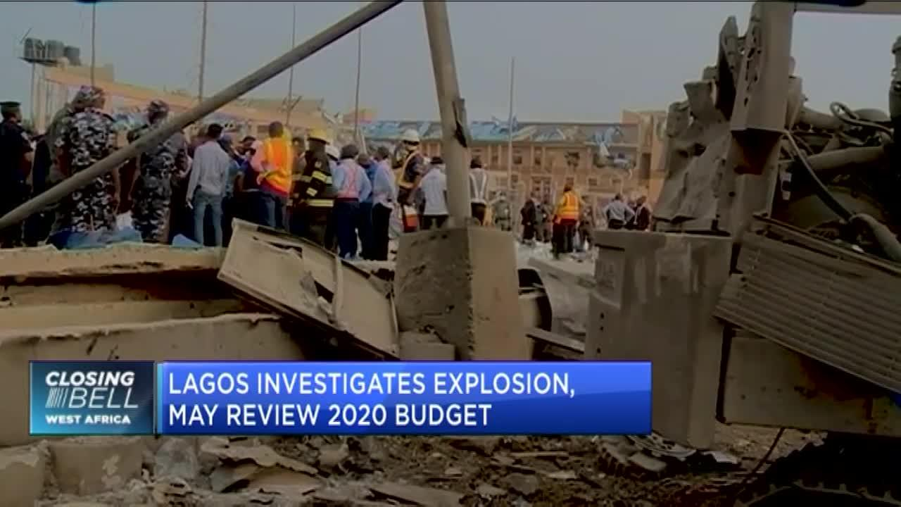 Lagos investigates gas plant explosion, may review 2020 budget