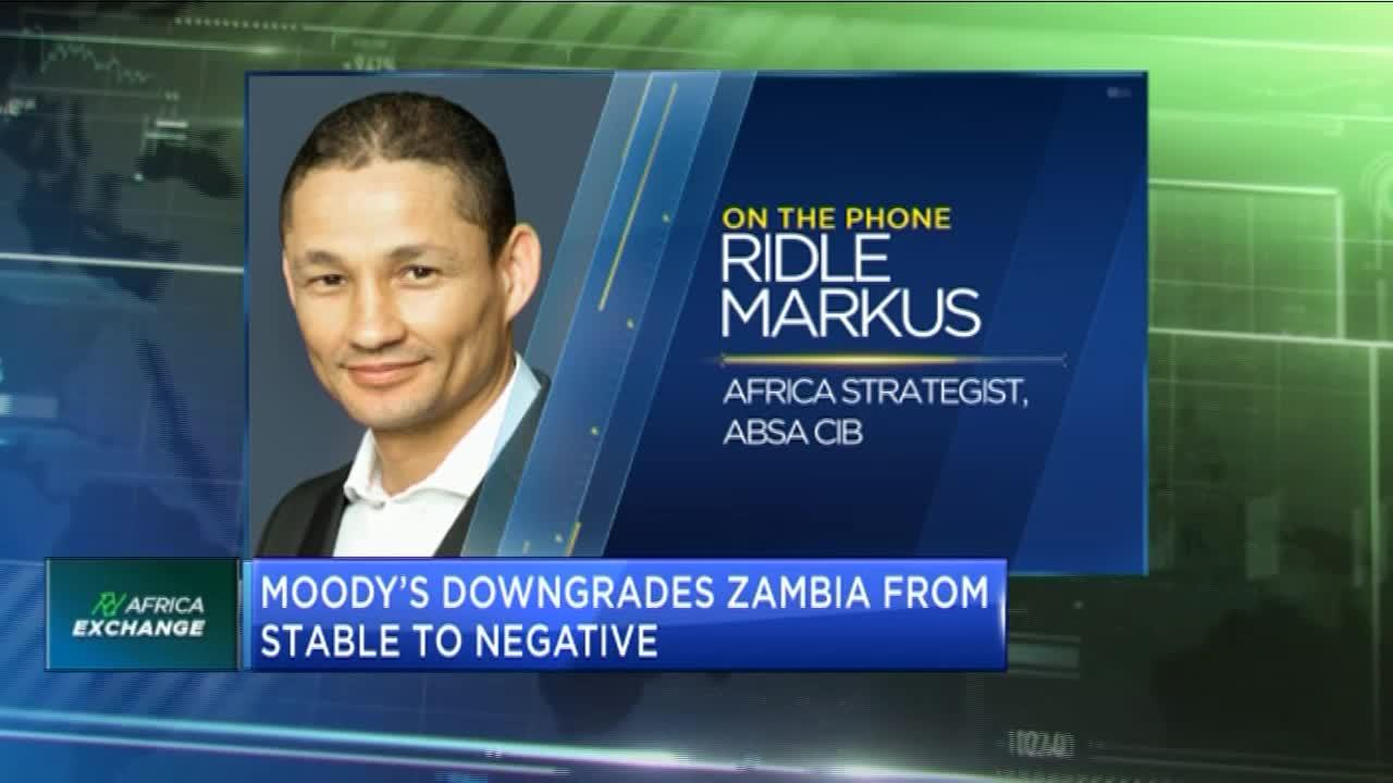 COVID-19: Moody's downgrades Zambia from stable to negative