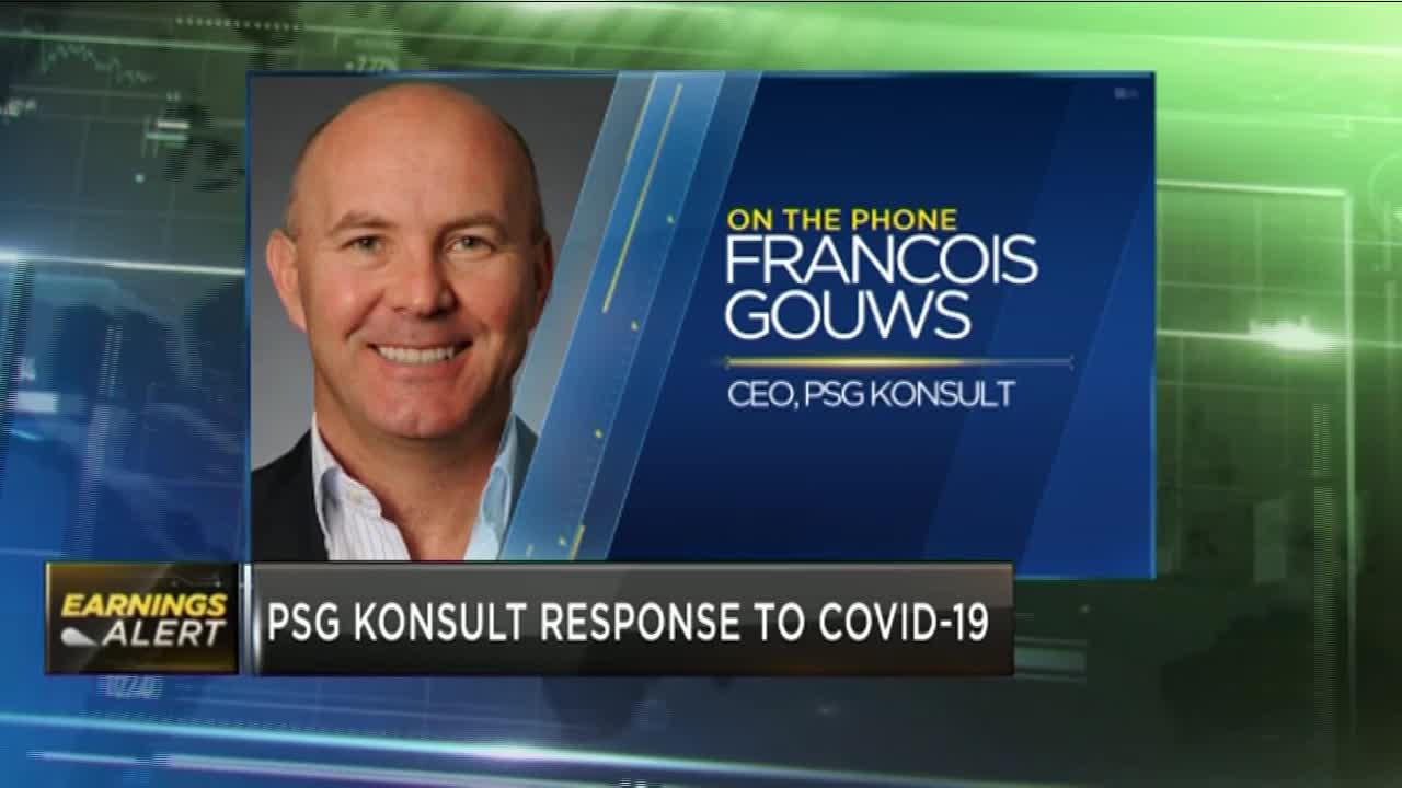 Francois Gouws on how PSG Konsult is responding to COVID-19