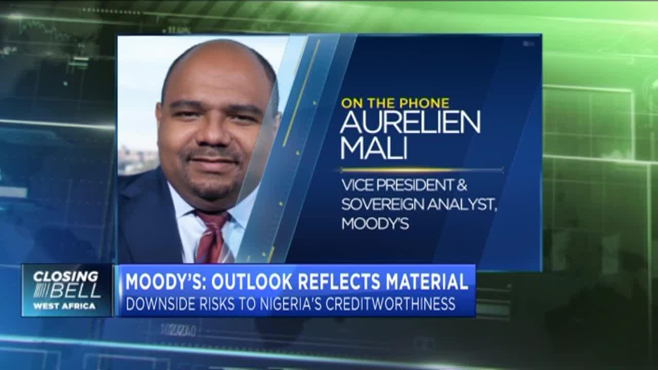 Moody's affirms Nigeria's B2 ratings, maintains negative outlook