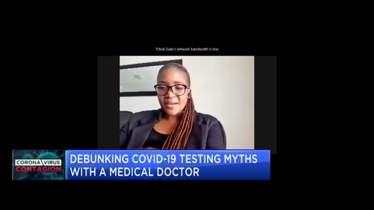 Debunking COVID-19 testing myths with a medical doctor