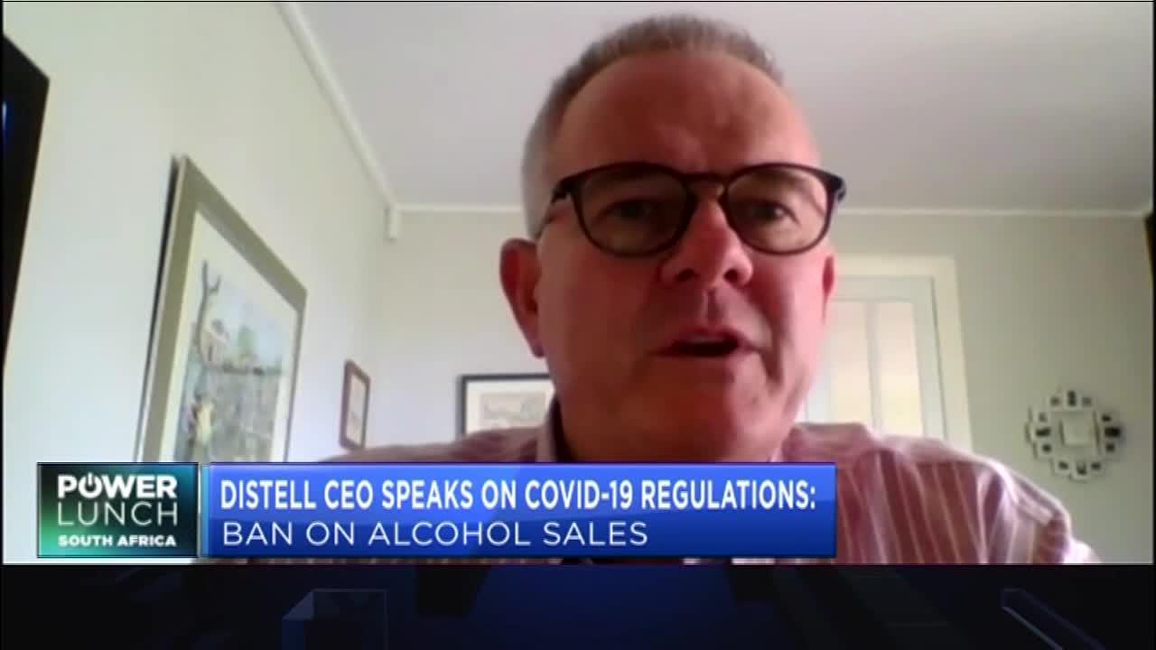 Distell's Richard Rushton on Covid-19 regulations & the impact of illicit alcohol sales