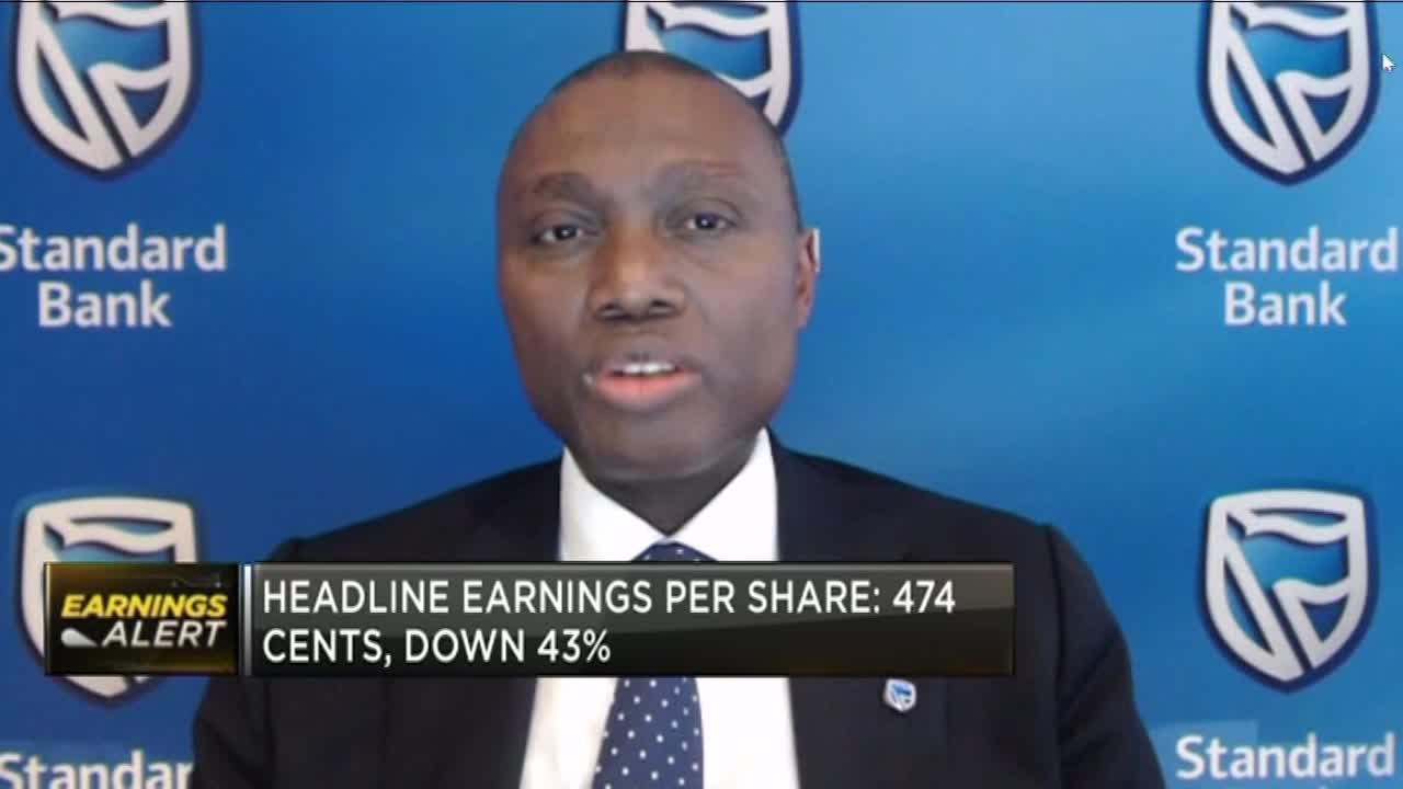 Standard Bank sees H1 HEPS down 43% in tough market conditions