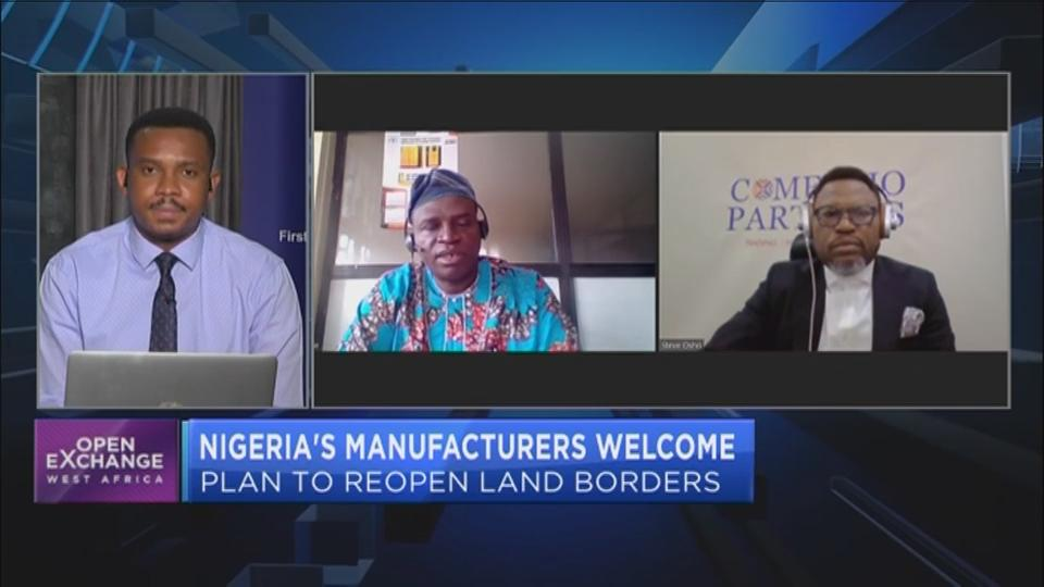 Nigeria's manufacturers welcome plan to reopen land borders