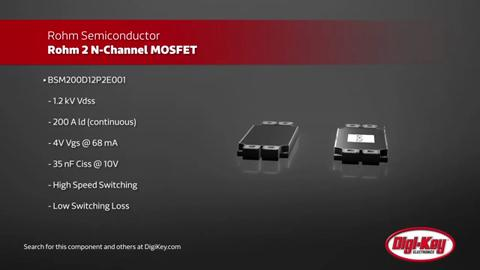 ROHM Semi 2 N-Channel MOSFET | Digi-Key Daily