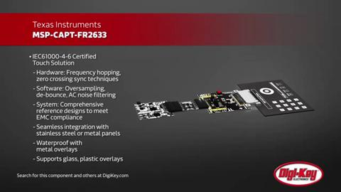 Texas Instruments MSP CapTIvate Development Kit | Digi-Key Daily