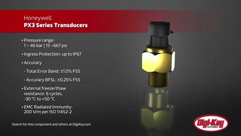Honeywell PX3 Pressure Transducers | Digi-Key Daily