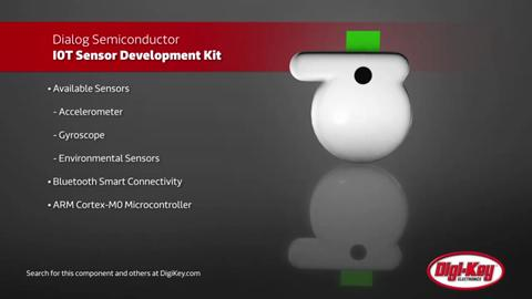 Dialog Semiconductor DA14583 IoT Sensor Dev Kit | Digi-Key Daily