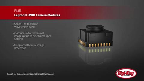 FLIR Lepton LWIR Camera Modules | Digi-Key Daily