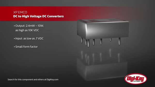 XP Power EMCO DC – High Voltage DC Converters | Digi-Key Daily