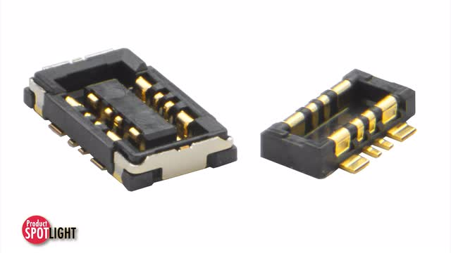 Molex - Product Spotlight - SlimStack™ Hybrid SMT Board-to-Board Connectors