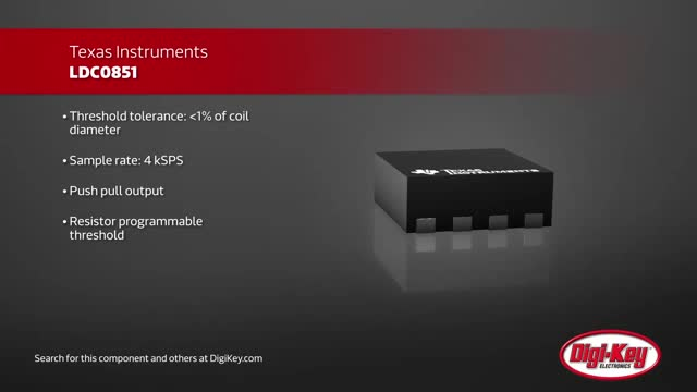 Texas Instruments LDC0851 Switches | Digi-Key Daily