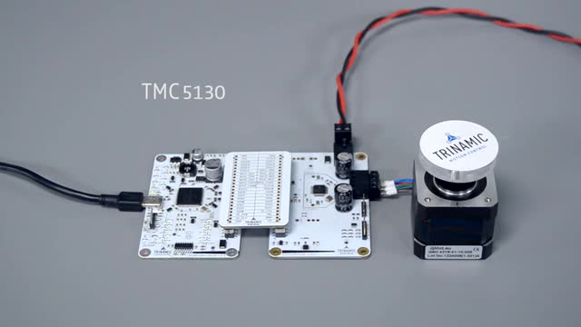 Positioning with Trinamic TMCL-IDE and TMC5130 EVAL KIT