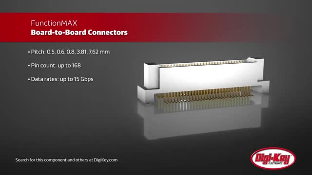 Hirose FunctionMAX Board-to-Board Connectors | Digi-Key Daily