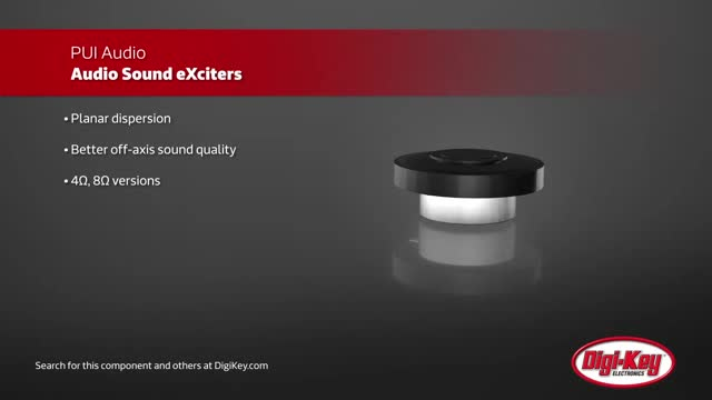 PUI Audio Sound eXciters | Digi-Key Daily