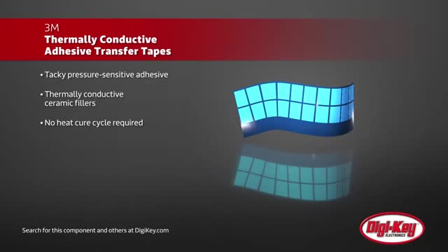 3M 8810 Series Thermally Conductive Adhesive Transfer Tapes | Digi-Key Daily