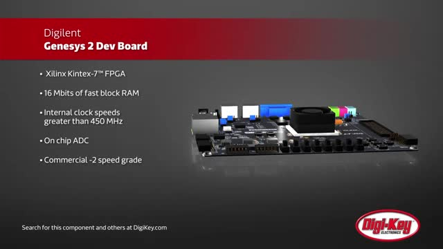 Digilent Genesys 2 Dev Boards | Digi-Key Daily