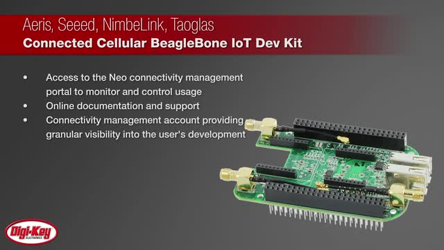 Connected Cellular BeagleBone IoT Dev Kit | Digi-Key Daily