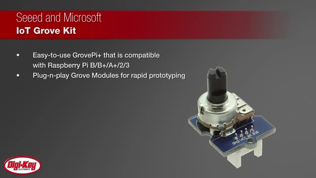 Seeed Microsoft IoT Grove Kit | Digi-Key Daily