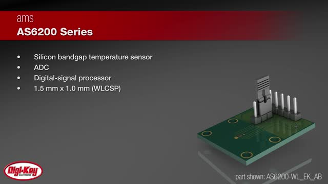 ams AS6200 Digital Temperature Sensors | Digi-Key Daily