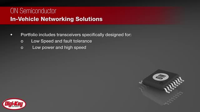 MCU Solutions for Automotive CAN Networking | DigiKey