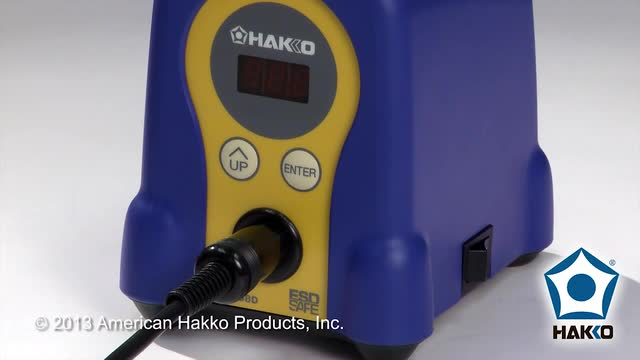Hakko FX-888D Soldering Station by American Hakko — How To Set the Preset Temperatures