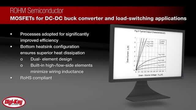 ROHM MOSFETs for DC-DC Converter & Load Switch Applications | Digi-Key Daily