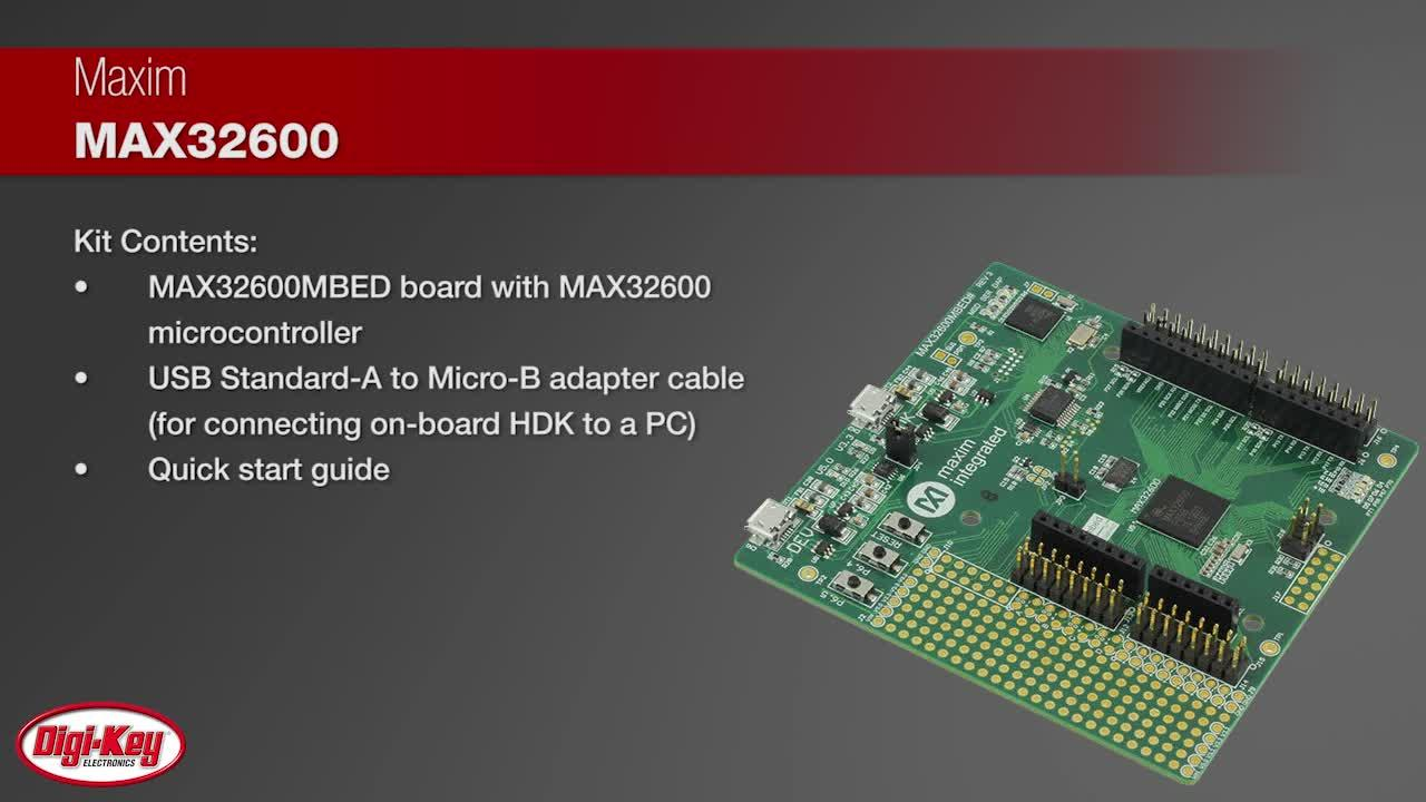 Maxim MAX32600MBED# Wellness Measurement Microcontroller | Digi-Key Daily