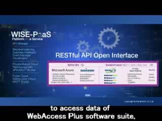 Enabling IoT & Industry 4.0 with WISE PaaS and WebAccess+ Alliance with subtitles , Advantech(EN)