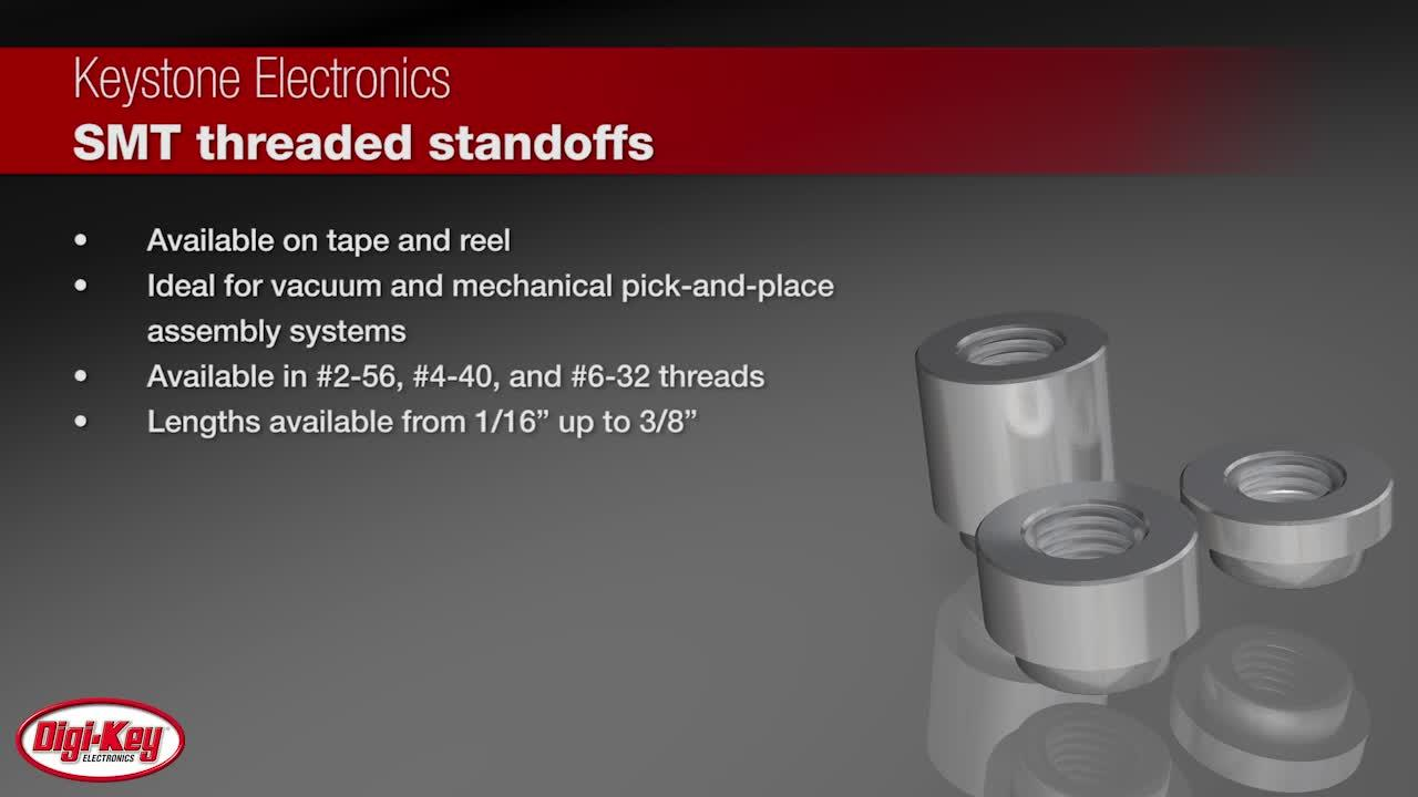 Keystone Surface-Mount Threaded Standoffs | Digi-Key Daily