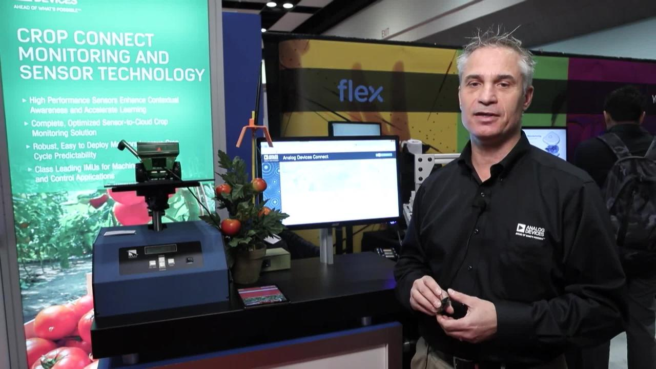 ADI's Connected Crop and Precision IMU for Smart Agriculture