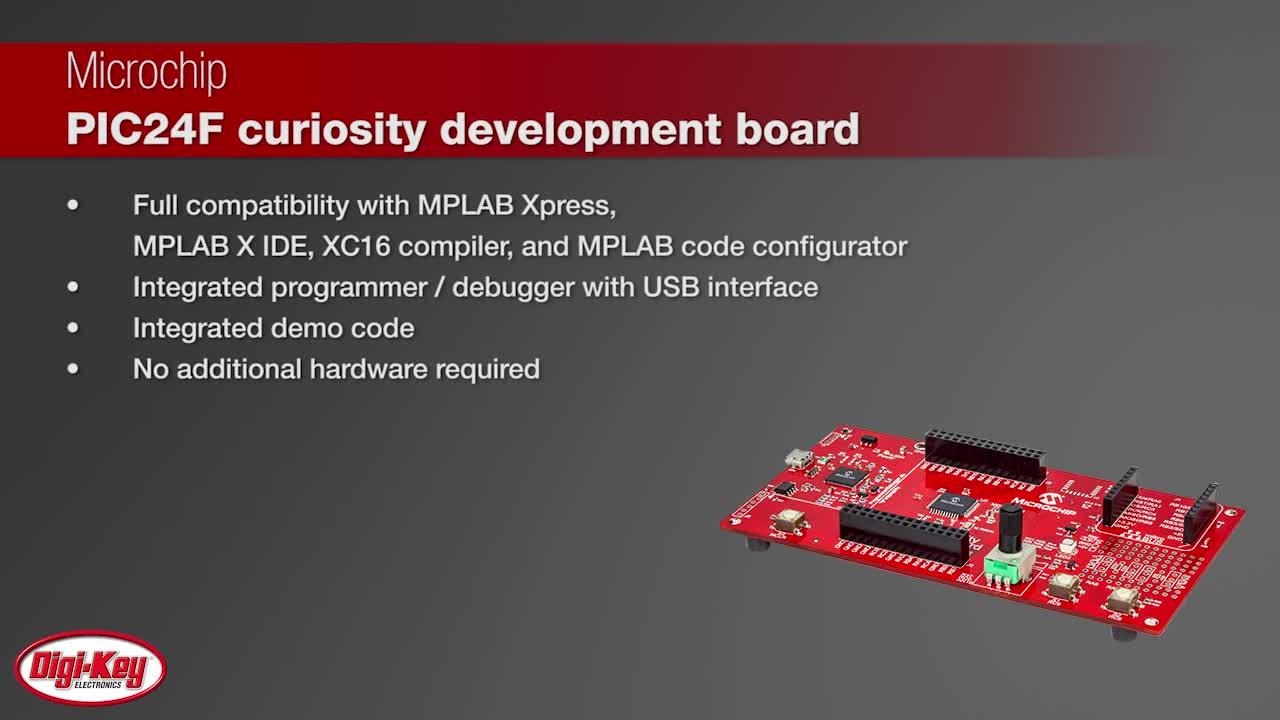 Microchip PIC24F Curiosity Development Board | Digi-Key Daily